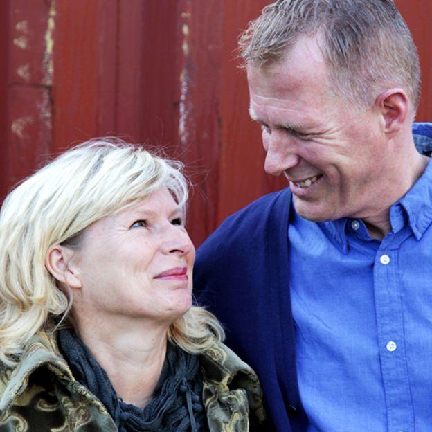 Вилбур с женой