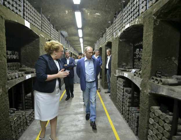 Путин в Массандре