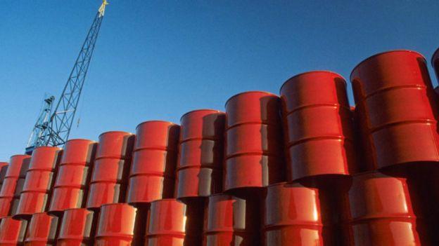 Barriles petróleo