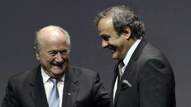 Ông Sepp Blatter và ông Michel Platini