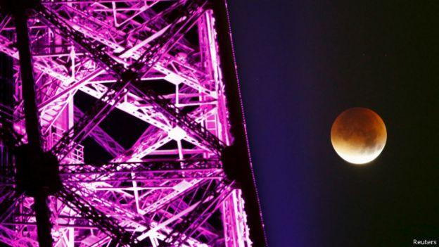 La estructura de la Torre Eiffel