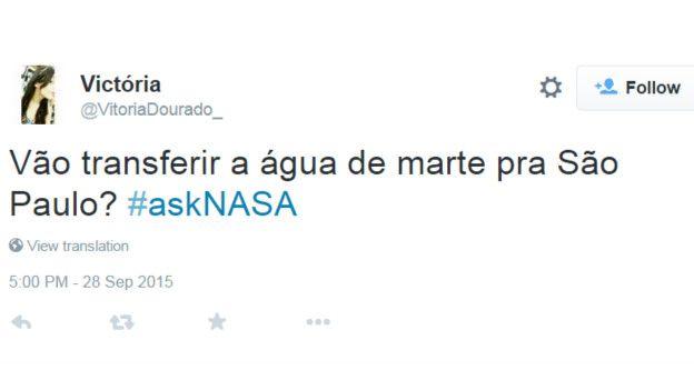 #AskNasa 7 perguntas esdrúxulas de brasileiros à Nasa após descoberta