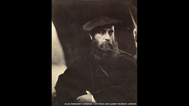 William Michael Rossetti, 1865. Foto: Julia Margaret Cameron.