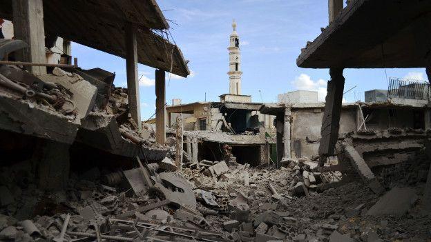 Talbisseh, provicia de Homs, Siria