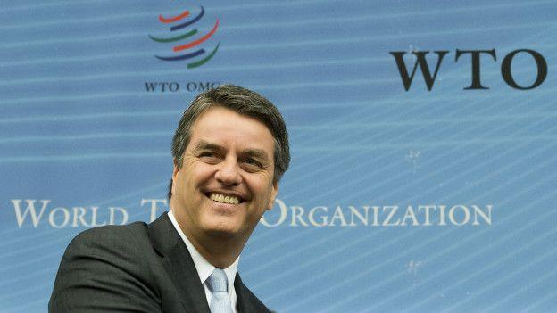 Roberto Azevêdo, diretor-geral da OMC (Foto: Jean-Christophe Bott/AP)