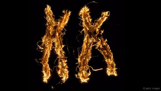 Dibujo de cromosomas XX