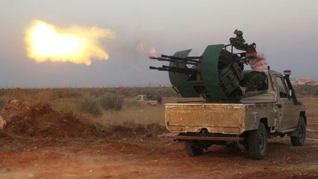 Imagen de la guerra en Siria.