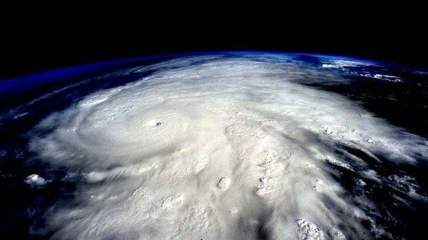 El huracán Patricia en una foto satelital de la NASA