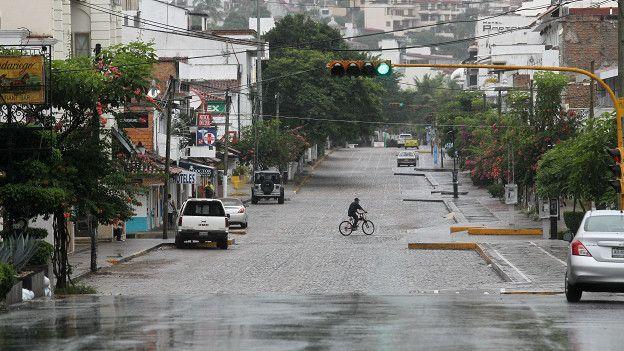 Calle anegada