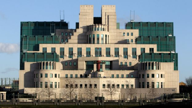 英国伦敦的SIS大楼是军情六处的总部