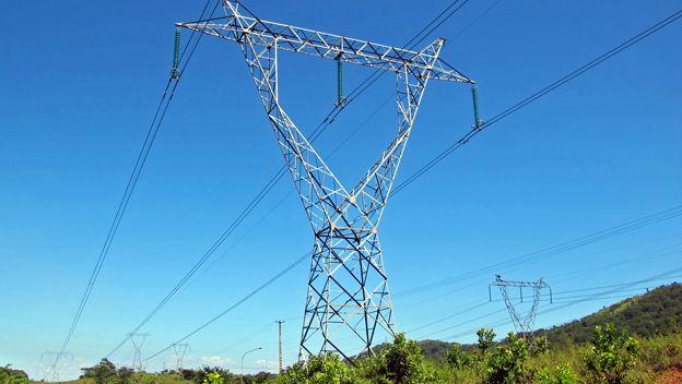 Torre de electricidad en Bolívar