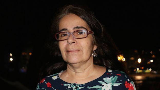 Abogada brasileña Marta Bastos, defensora del trío de mujeres que registró su unión civil en Río.