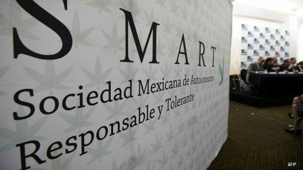 Cartel de la Sociedad Mexicana de Autoconsumo Responsable y Tolerante