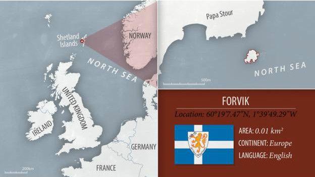 Ubicación en el mapa de Forvik