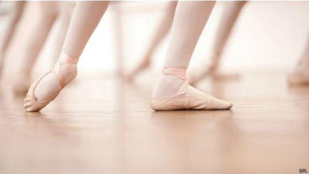 Piernas de bailarinas