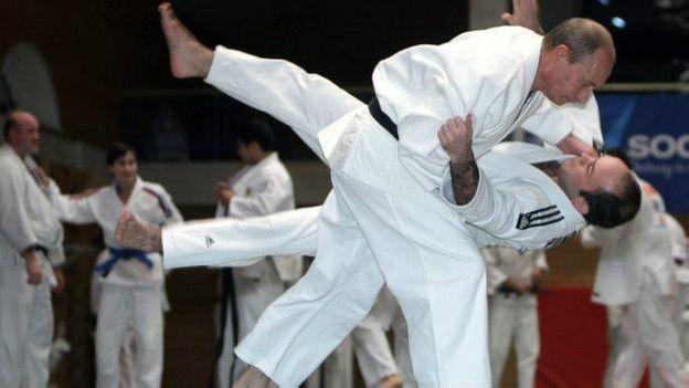 Tổng thống Putin thi đấu judo