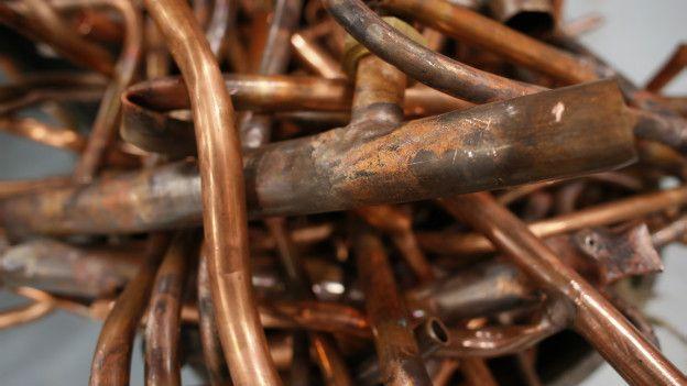 Cañerías de cobre