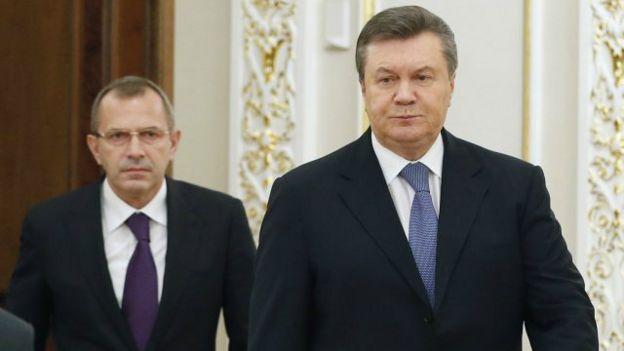 Віктор Янукович та Андрій Клюєв