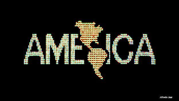 Un logo para América, de Alfredo Jaar