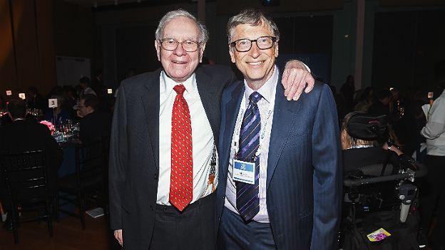 Warren Buffett y Bill Gates