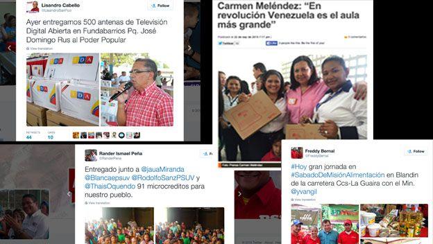 Candidatos del PSUV entregan obras