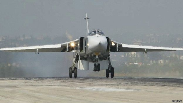 Су-24 на военной базе