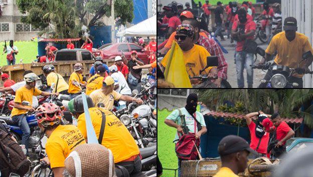 Fotos de mítin de Miguel Pizarro