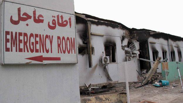 Hospital de Médicos in Fronteras en Kunduz.