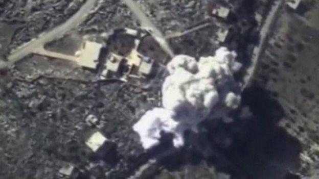 Explosión en Siria