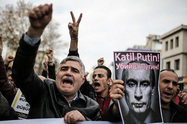 Manifestación contra Putin