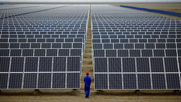 Planta solar en China