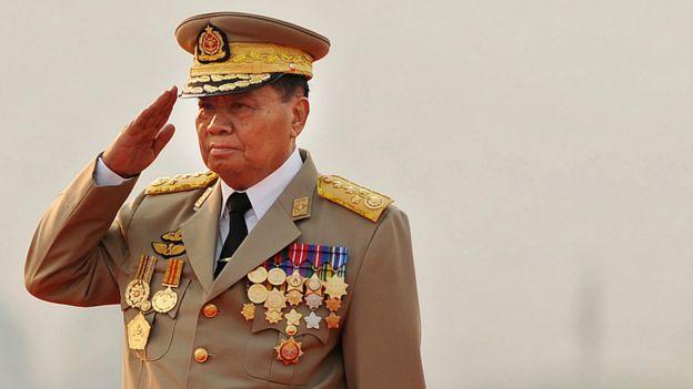 緬甸前國防軍總司令丹瑞