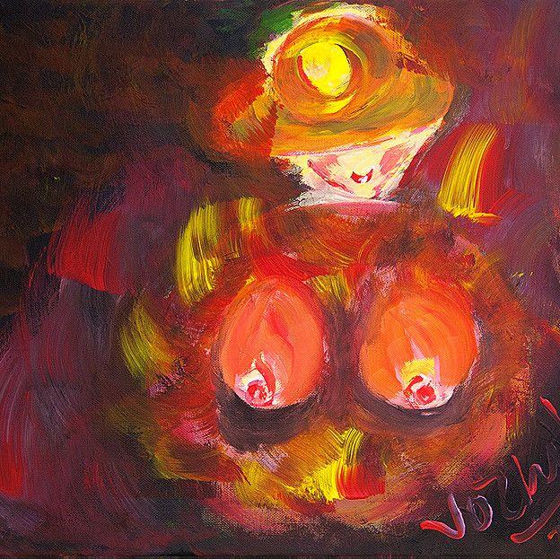 Triển lãm tranh của Võ Thị Hảo