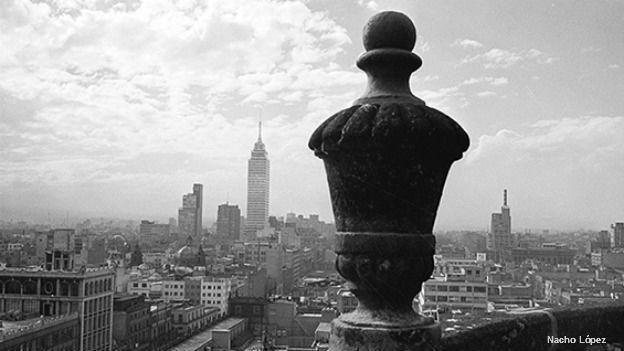 Vista desde la azotea de la Catedral Metropolitana