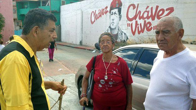 Chavistas en el 23