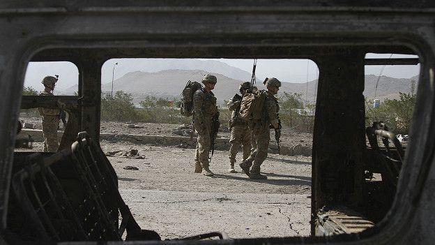 Patrullaje Afganistán