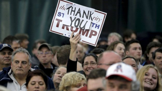 Seguidores de Donald Trump