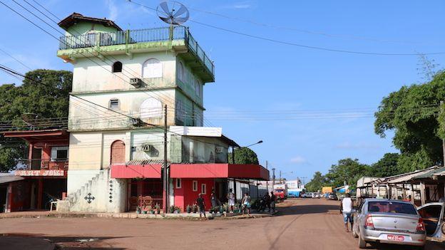 Oiapoque, el pueblo del extremo norte de Brasil que limita con la Guyana Francesa.