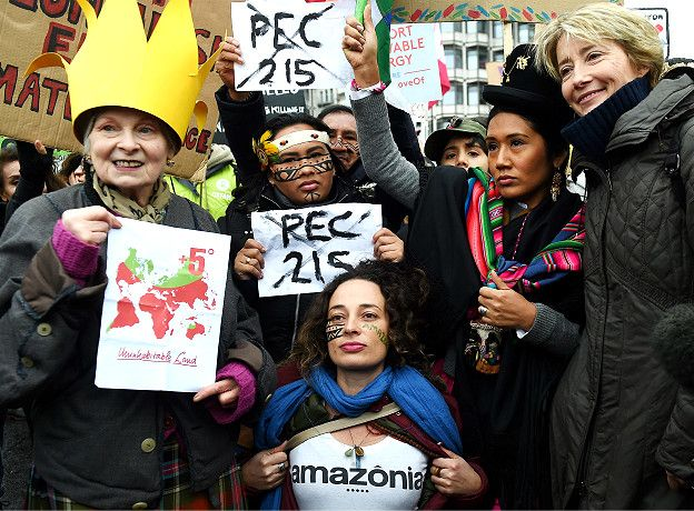 Activistas ambientales