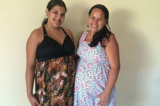 Jackeline Palmeira e Elisangela Pereira | Foto: BBC Brasil