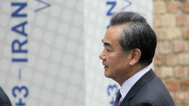 中國外長王毅在維也納出席伊朗核問題談判(6/7/2015)