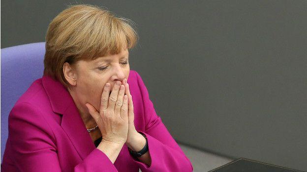 Ángela Merkel, presidenta de Alemania