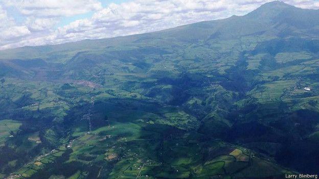 Ландшафт Эквадора
