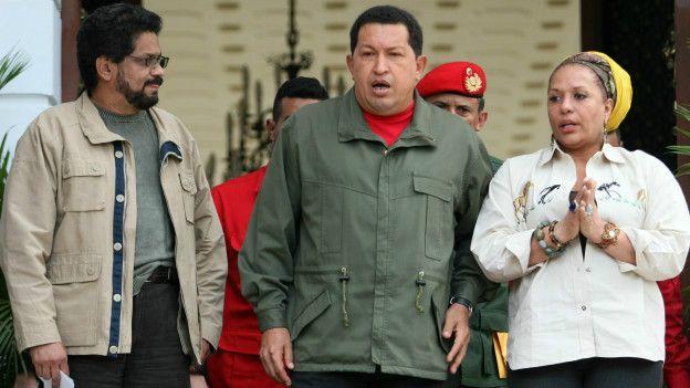 Márquez con Chávez