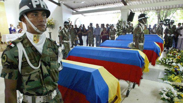 Muertes de militares