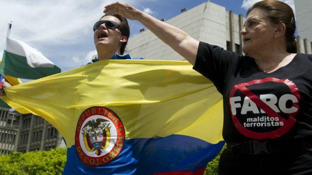 Oposición a las FARC