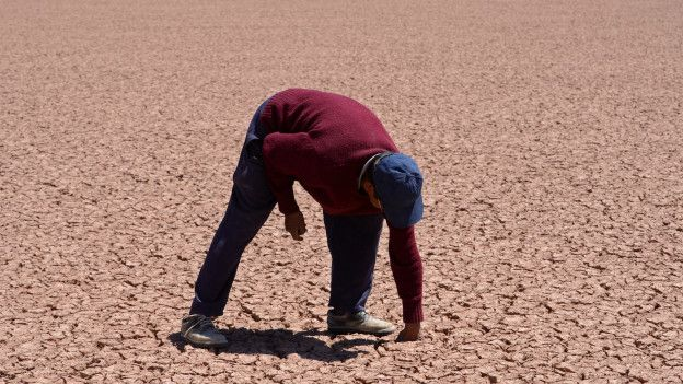 Sequía del lago Poopó