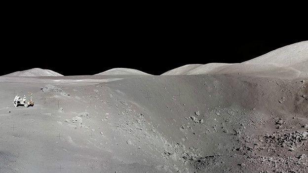 Чтобы обеспечить теплоизоляцию лунного поселения, можно было бы использовать реголит