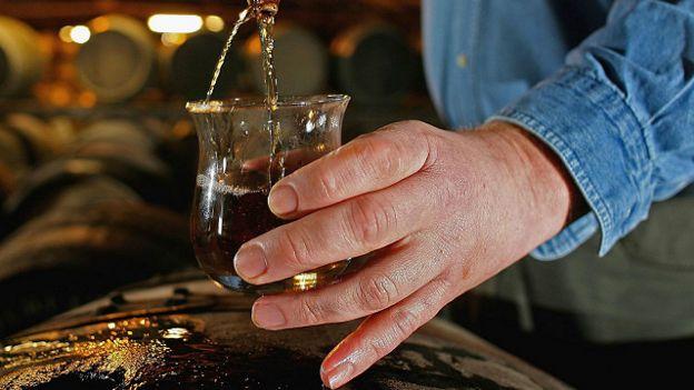 Виски из бочки