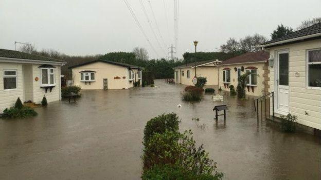 Наводнение на севере Англии